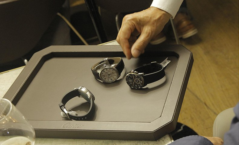 Rocca 1794 and Cartier's watch-making art in Bologna