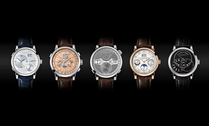 A. Lange & Söhne exclusively at Rocca