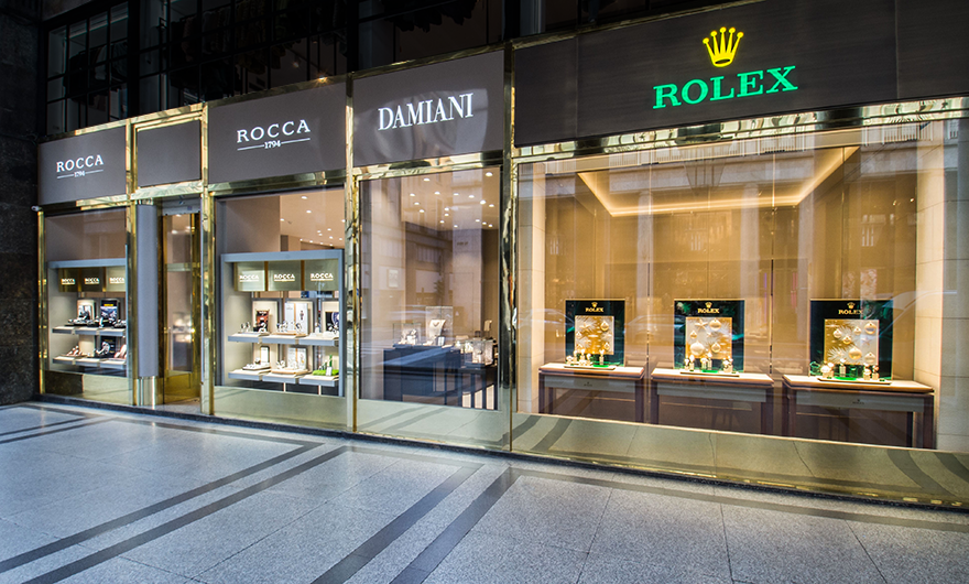 Rocca Boutique of Turin reopens in a completely new look