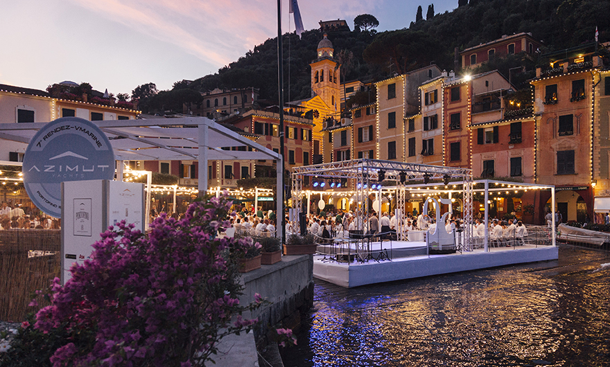 Rocca, Damiani and Breitling together in Portofino for the 7th edition of the Rendez-V Marine