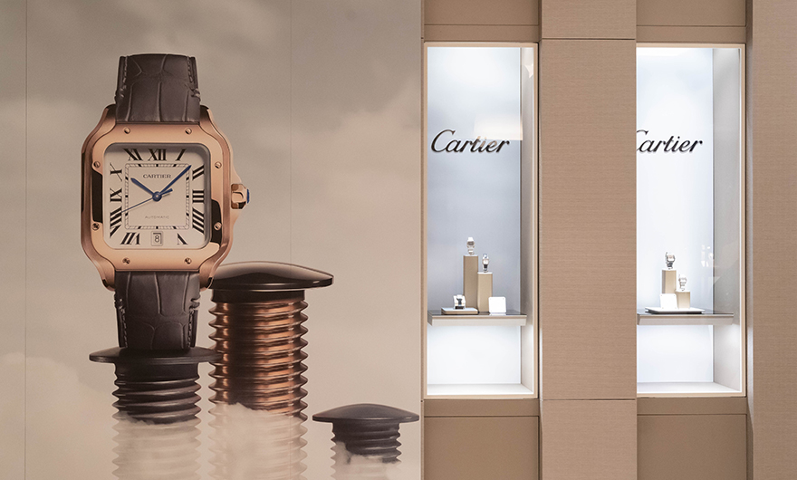 Rocca presents exclusively Santos de Cartier