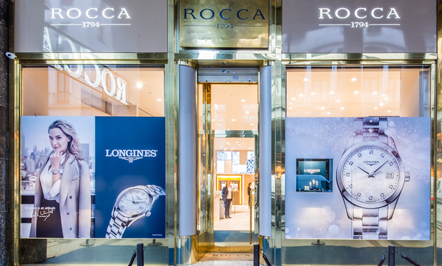 Rocca and the contemporary elegance of the Conquest Classic collection by Longines