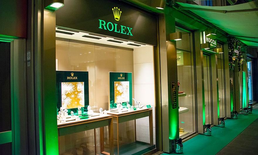 A new look for the Corner Rolex of Bari Boutique