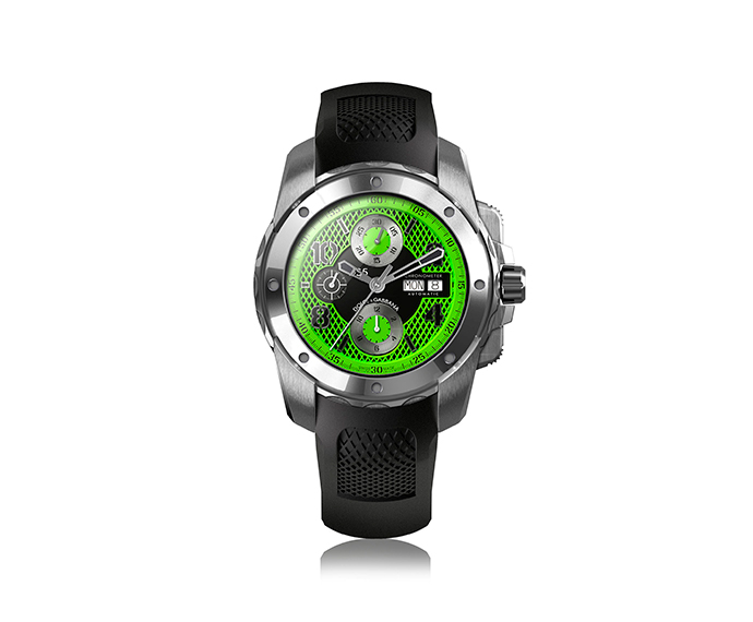 DOLCE&GABBANA - DG5 Black and green 44 mm