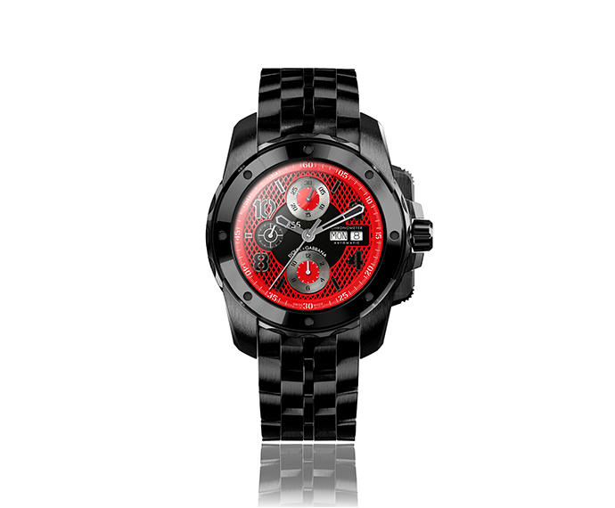 DOLCE&GABBANA - DG5 Black and red 44 mm