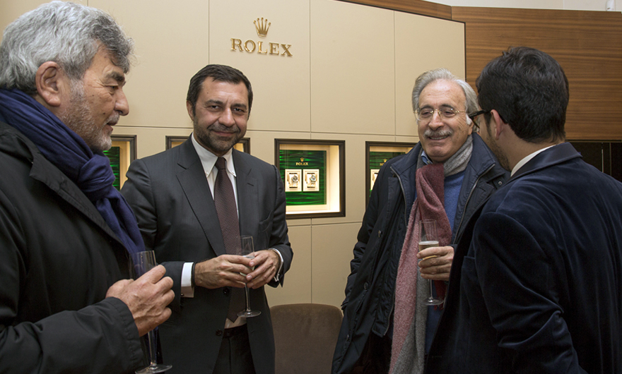Rocca and Rolex hosted an exclusive Christmas Cocktail in the Boutique of Catania