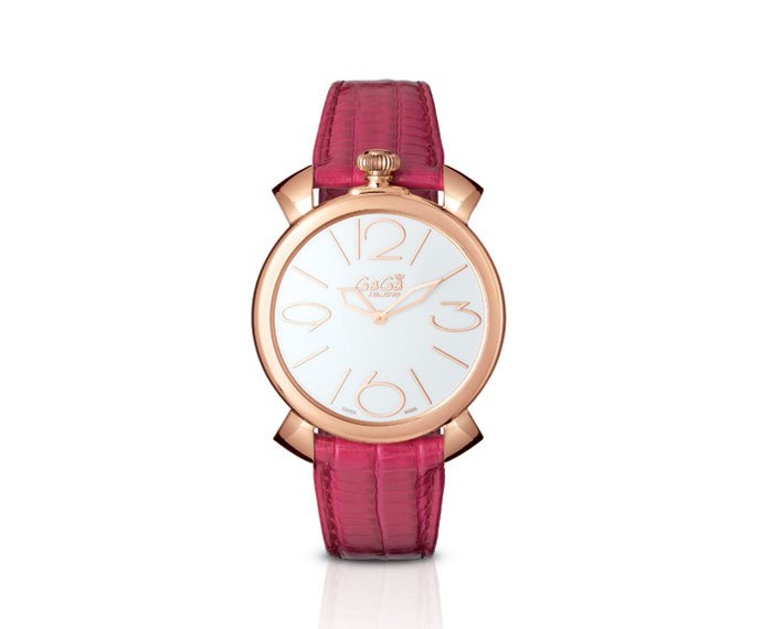 GAGÀ MILANO - Pink gold plated