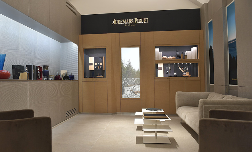 Audemars Piguet and Rocca inaugurate the Maison corner at Milan Boutique