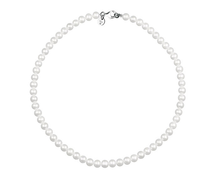 Bliss - String of pearls with steel clasp