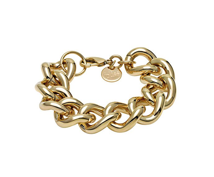 Bliss - Golden metal bracelet