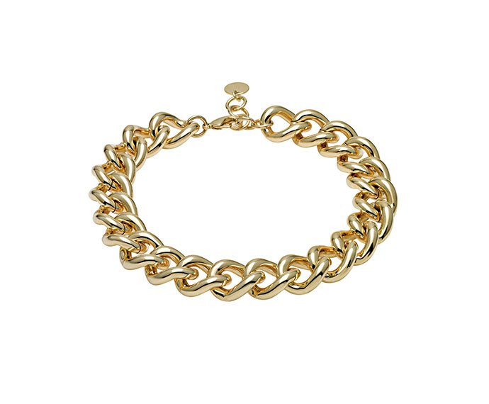BLISS - Golden metal necklace