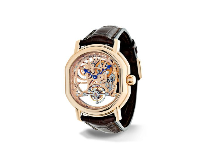 BULGARI - DANIEL ROTH Tourbillon 44 mm oro rosa