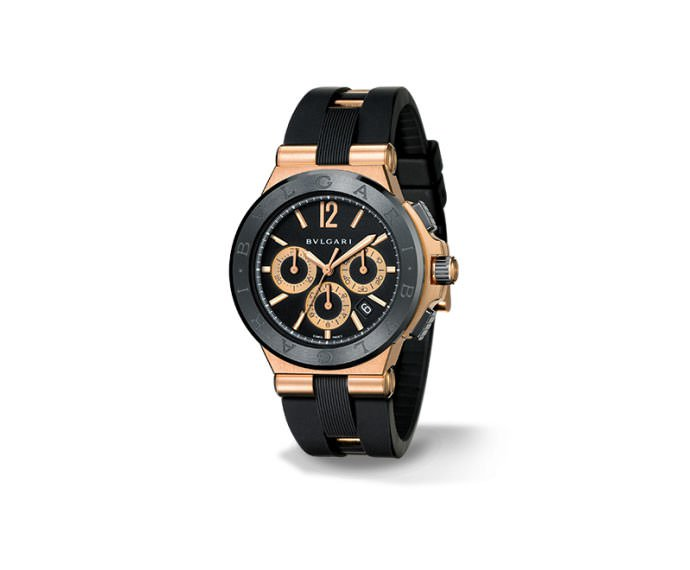 BULGARI - DIAGONO CERAMIC CHRONOGRAPHE