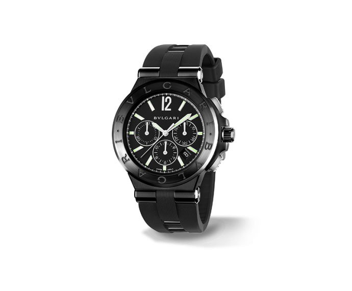 Bulgari - DIAGONO ULTRABLACK CHRONOGRAPHE