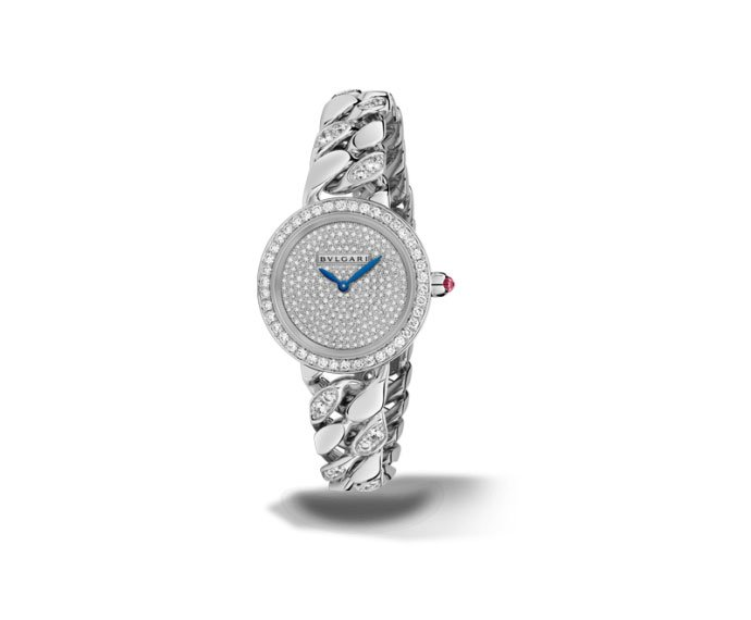 BULGARI - BVLGARI BVLGARI 31 mm white gold and diamonds