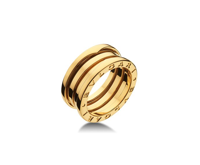 Bulgari - 3 band ring in yellow gold 18 K