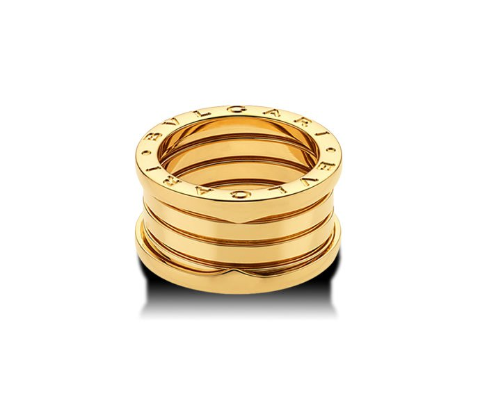 Bulgari - 4 band ring in yellow gold 18 K