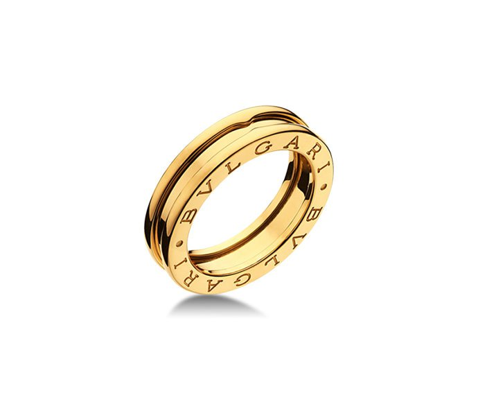 Bulgari - 1 band ring in yellow gold 18 K