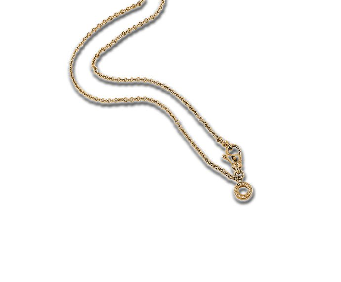 Bulgari - Necklace in yellow gold 18 K