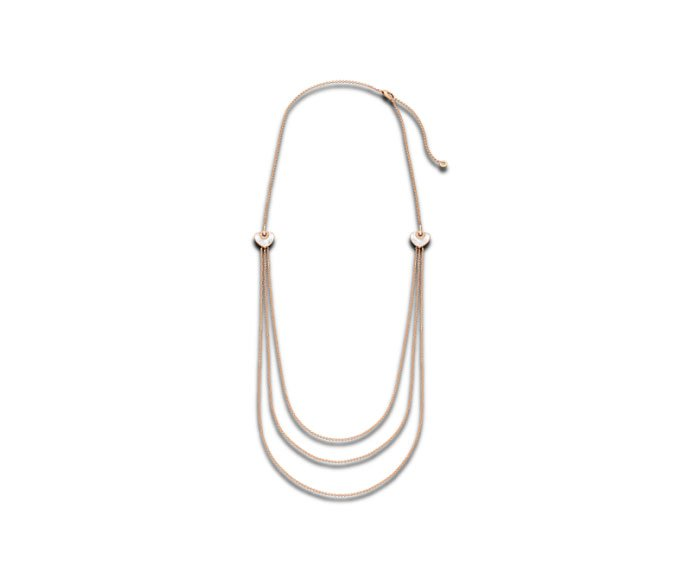 Bulgari - Necklace in pink gold 18 K with mother-of-pearl