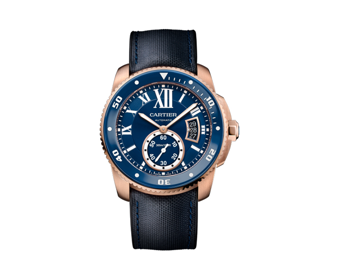 CARTIER - Calibre de Cartier Automatic Blue Dial