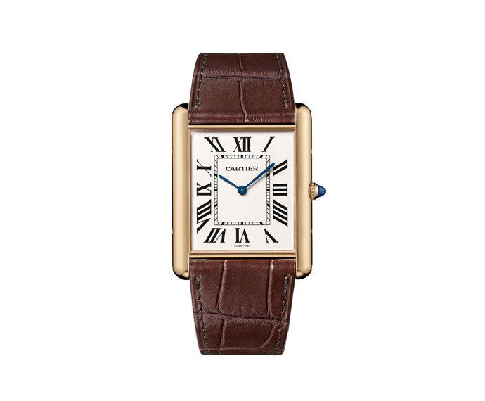 CARTIER - Tank Louis Cartier Extralarge Model, Pink gold