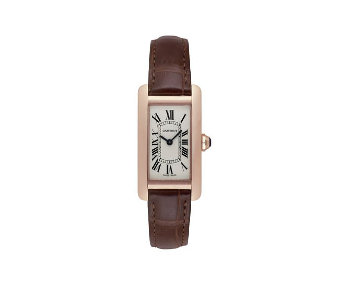 CARTIER - Tank Américaine Small Model, Pink gold