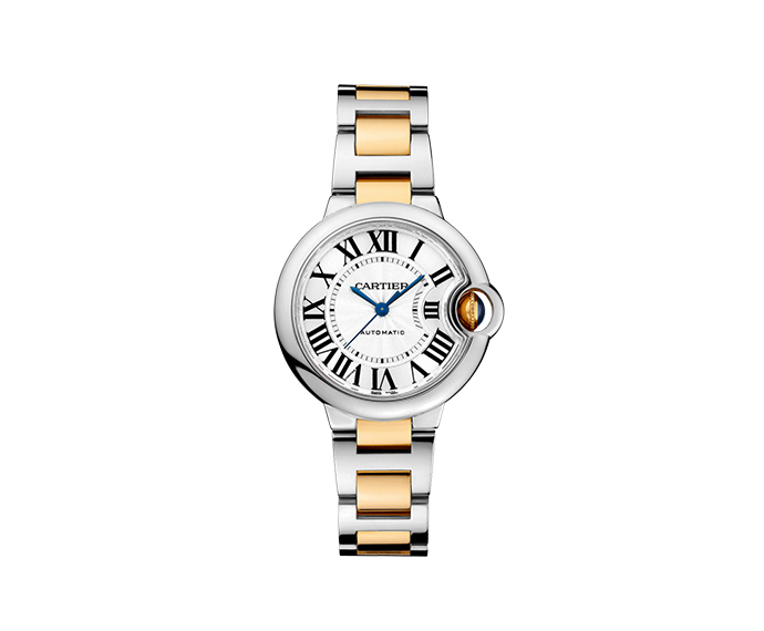 CARTIER - Ballon Bleu de Cartier, 33 mm, Yellow gold and Steel