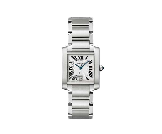 CARTIER - Tank Française Big Model, Steel