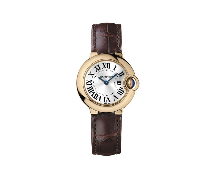- Ballon Bleu de Cartier, 28mm, Pink gold