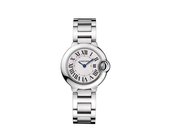 CARTIER - Ballon Bleu de Cartier 28 mm, Acciaio