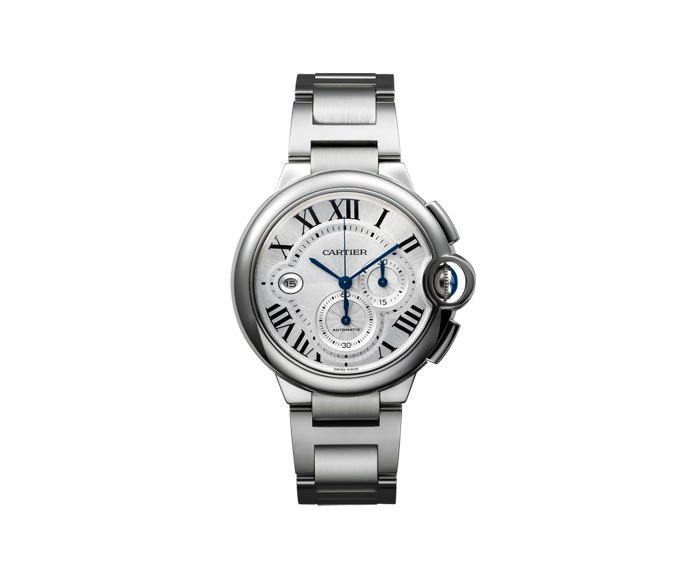 CARTIER - Ballon Bleu de Cartier Chronograph, Extralarge Model, Steel
