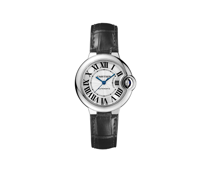 CARTIER - Ballon Bleu de Cartier, 33 mm, Steel, Leather