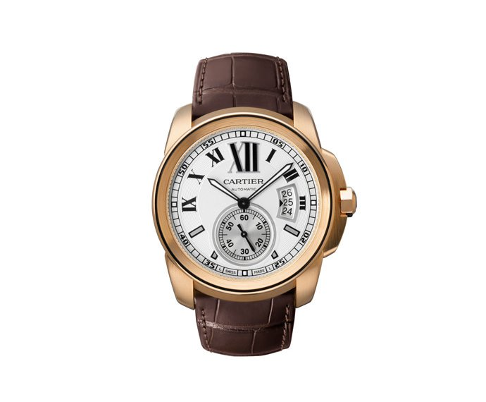 - Calibre de Cartier, Big Model, Pink gold