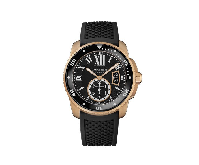 - Calibre de Cartier, 42mm, Pink gold