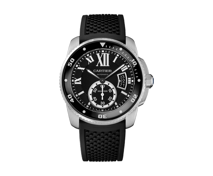 CARTIER - Calibre de Catier Automatic Black Dial