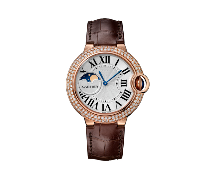 - Ballon Bleu de Cartier, 37mm, Pink gold
