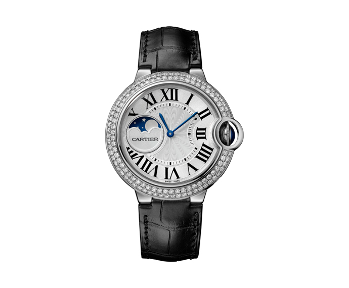 - Ballon Bleu de Cartier, 37mm, White gold