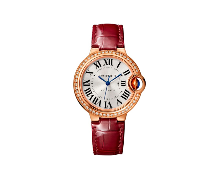 CARTIER - Ballon Bleu de Cartier, 33 mm, Oro rosa e diamanti