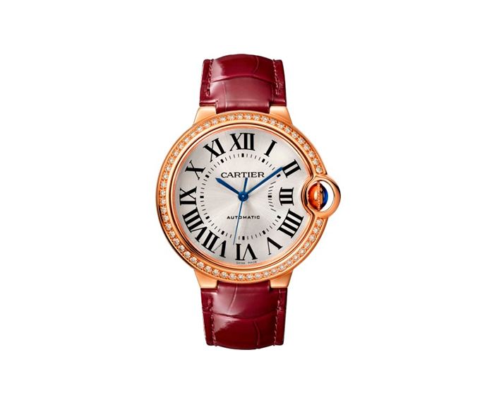 CARTIER - Ballon Bleu de Cartier, 36 mm, Pink gold and diamonds