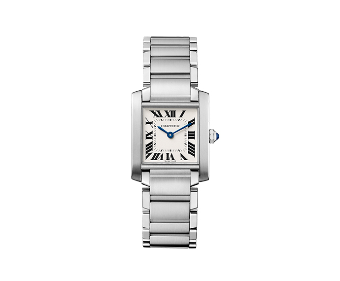 Cartier - Tank Française, Medium Model, Steel