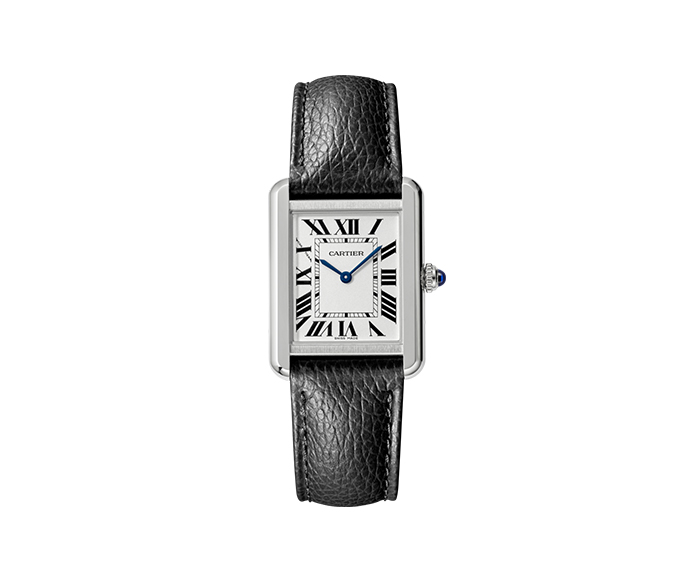 cartier tank solo small model steel leather watches rocca 1794