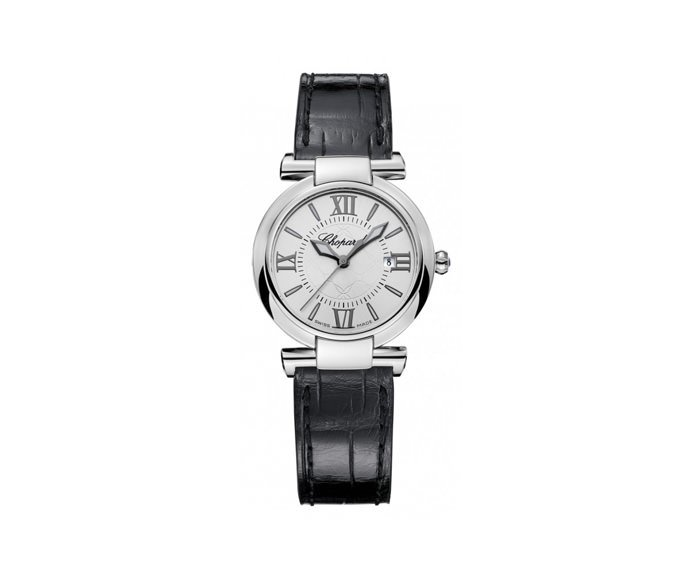CHOPARD - Imperiale 28 mm, Stainless steel, Amethyst