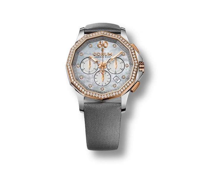 CORUM - Admiral's Cup Legend 38 Lady Chronograph Red Gold