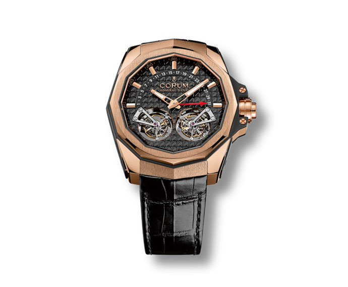 Corum - Admiral's Cup AC-ONE 45 Double Tourbillon Red Gold
