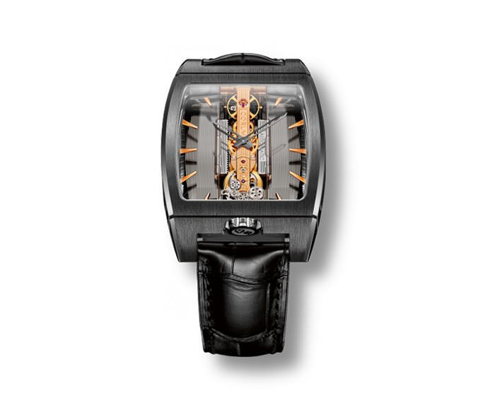 Corum - Golden Bridge Automatic Titanium