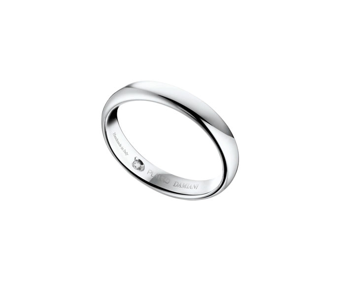 Damiani - Platinum wedding ring