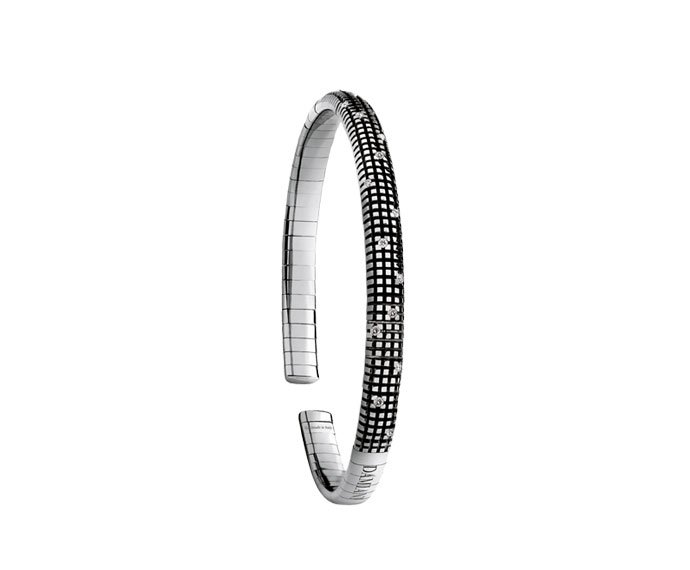 Damiani - Black gold and diamonds bracelet