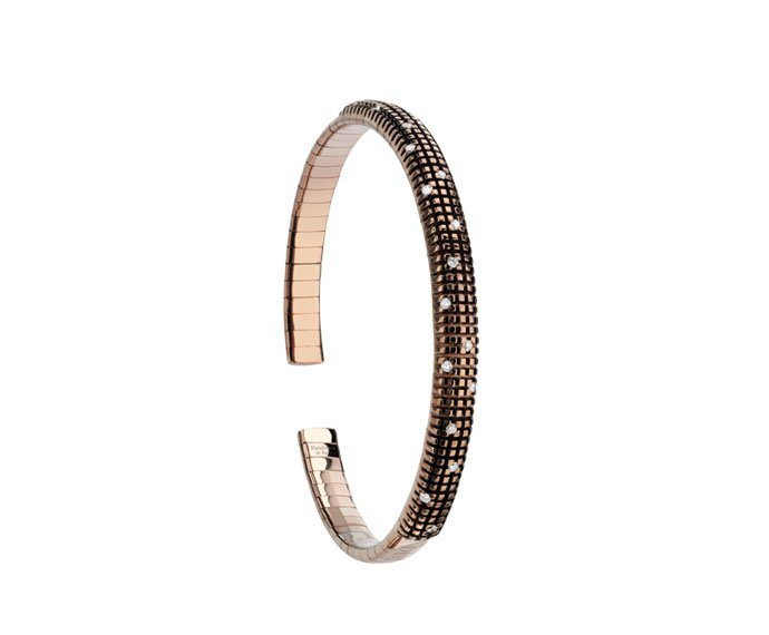 Damiani - Brown gold and diamonds bracelet