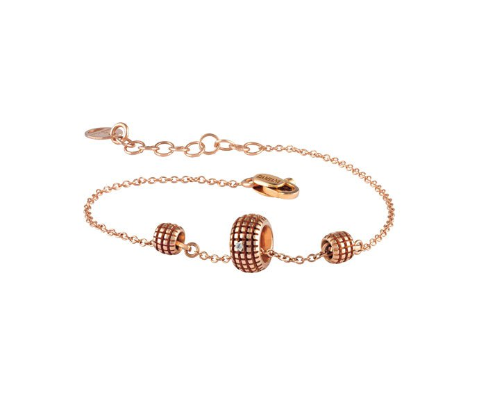 Damiani - Pink gold and diamonds bracelet